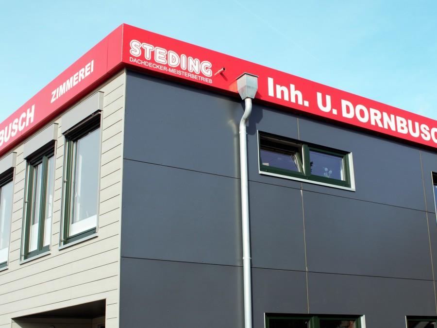 Fassadenarbeiten Dachdecker-Meisterbetrieb Steding